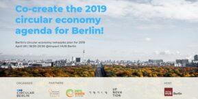 Mitgestalten der Agenda für Circular Economy 2019 für Berlin!