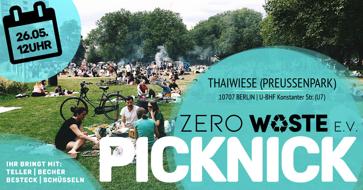 Zero Waste Picknick @ Thaiwiese 26.05.2019