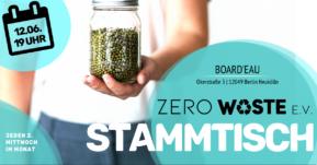 Zero Waste Stammtisch im Juni mit Vortrag FREA