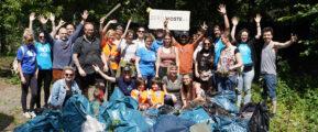 Rückblick: Cleanup in der Rummelsburger Bucht