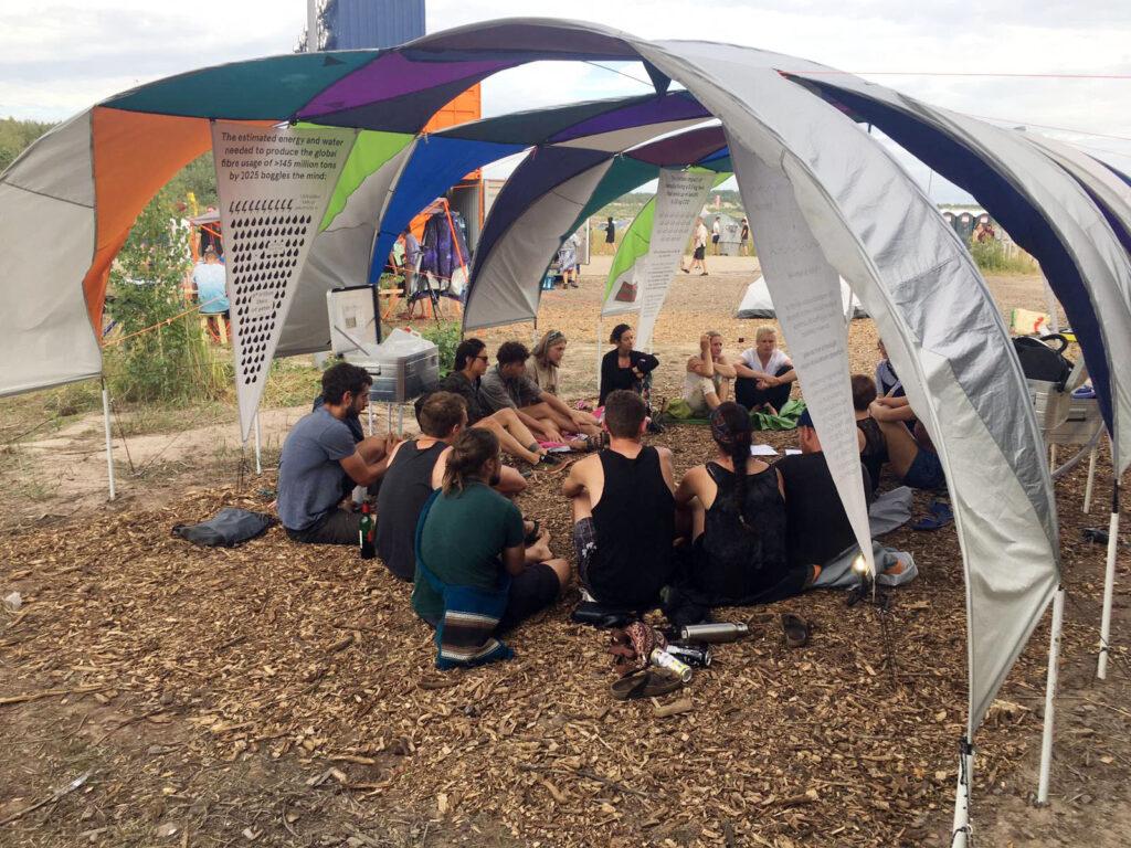 Zero Waste e.V. @ Artlake Festival 1