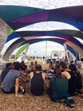 Rückblick: Re:camp auf dem Artlake Festival