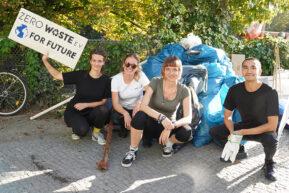 Rückblick: World Cleanup Day am Landwehrkanal