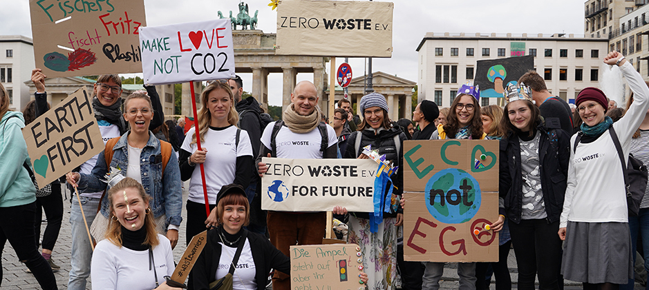 Der Zero Waste e.V. auf dem Klimastreik am 20. September 2019
