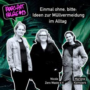 Podcast-Interview zum Label Einmal ohne, bitte