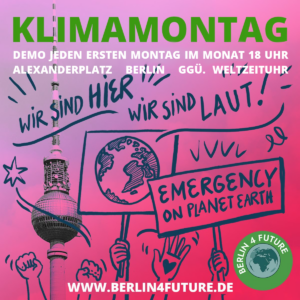KlimaMontag Demo Flyer